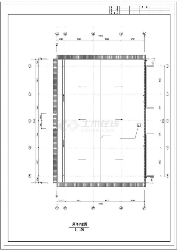 古建营业厅建筑基础布置参考图-图二
