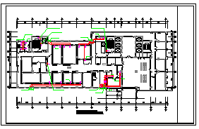 [施工图][安徽]门诊医技病房楼空调通风及防排烟系统设计施工图(风冷多联机系统)-图一