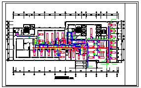 [施工图][安徽]门诊医技病房楼空调通风及防排烟系统设计施工图(风冷多联机系统)-图二