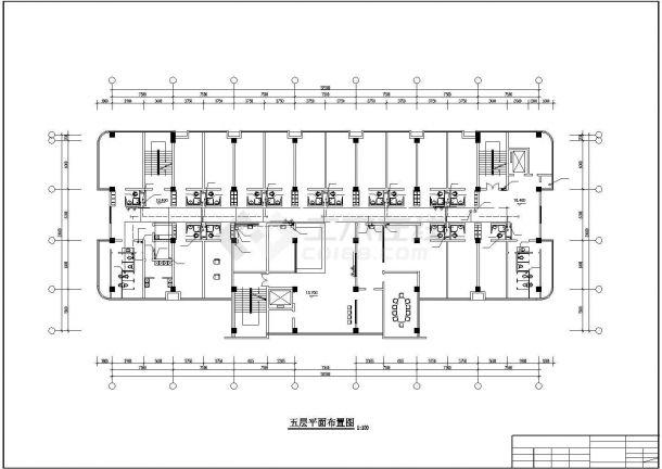 某地区-1+7层医院综合楼给排水施工图-图二