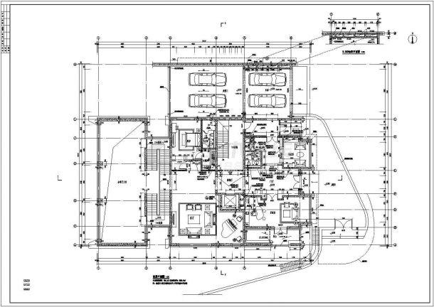 [北京]大型别墅群建筑安装工程量清单报价书(含全套图纸)-图二