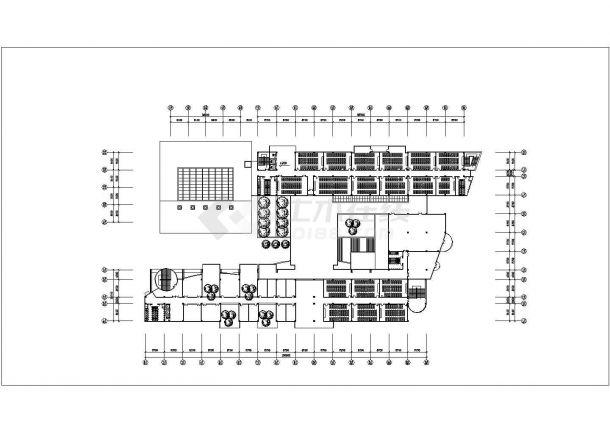 某地区教学楼建筑方案设计图-图二