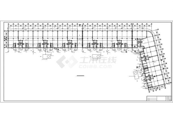 安徽某六层商住楼给排水施工图_给排水设计-图一