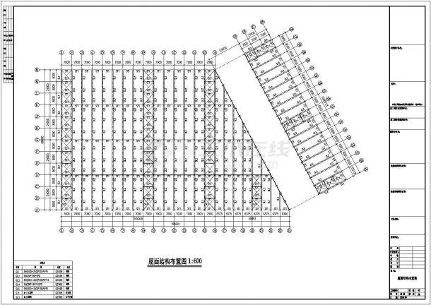 钢结构设计_集团公司钢结构工程CAD图-图二