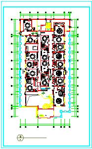 装修图-东海中餐厅装修设计cad施工图-图二