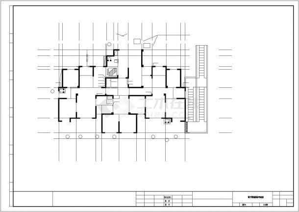 安徽超高层住宅给排水施工图_给排水设计-图一