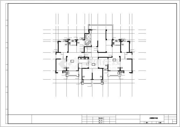 安徽超高层住宅给排水施工图_给排水设计-图二