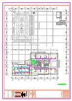 [施工图][浙江]高层残疾人康复中心空调通风及防排烟系统施工图(人防设计)-图二