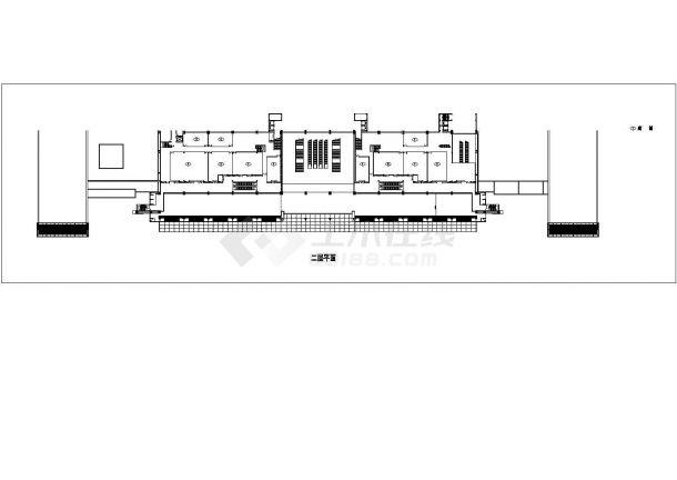 某73924平方米长途汽车客运站带裙楼全套施工设计图纸(含效果图)-图一