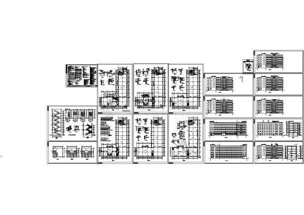 某地厂区房屋建筑设计方案详细施工CAD图纸-图一