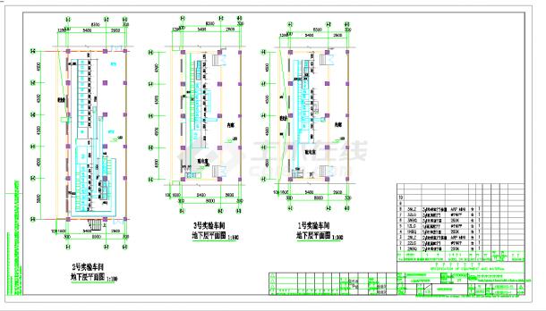 某地光伏分布式并网电站全套cad设计图纸-图一