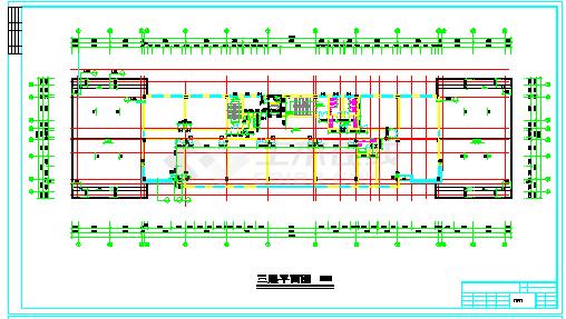 办公大楼全套cadbob电竞app设计图纸-图一