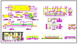 多种典型天花吊顶节点cad详图(14类吊顶详图+170款天花吊顶装饰图库)-图二