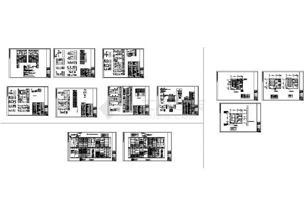 10kV变电所电气图CAD图纸-图一