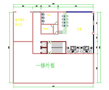 土豪老板的六层楼豪宅加底层宾馆及各层设施平面图-图二