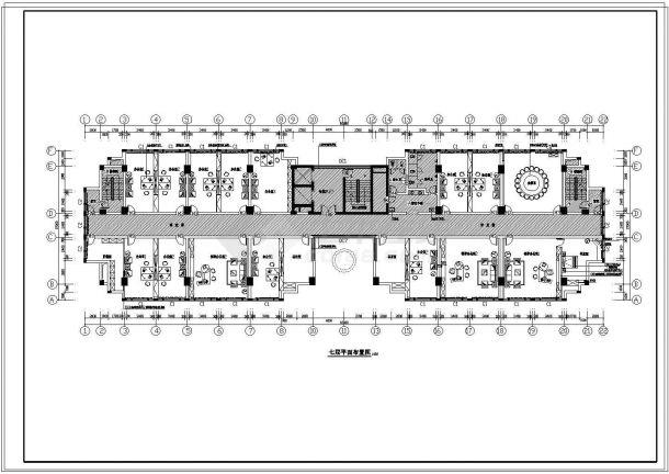 欧式办公楼bob电竞app设计图纸-图二