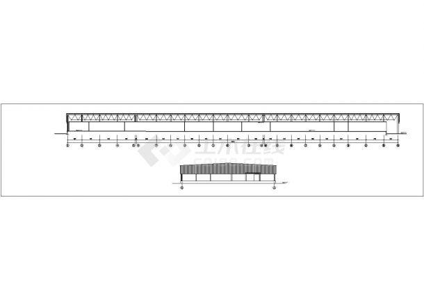 某食品厂房建筑方案设计图_食品厂房设计-图二