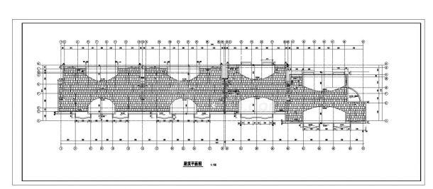 某房屋每单元住宅楼设计图CAD规划详图-图二