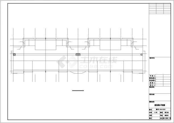 邯郸市昌澜苑小区3层砖混结构别墅给排水设计CAD图纸-图一