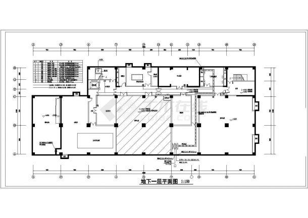 某大型医院病房楼智能化弱电系统工程设计cad全套电气施工图纸110张( 含设计说明)-图二