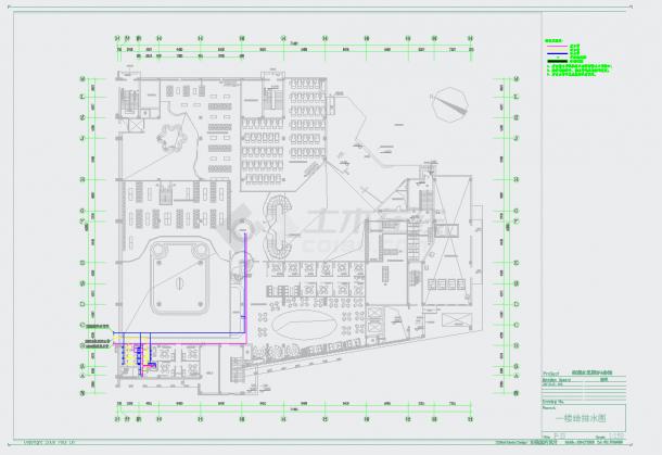 某地水元素SPA施工CAD图纸-图二