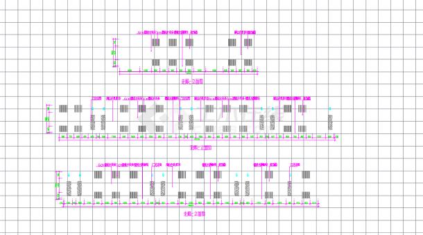 某地某酒店桑拿浴场空间设计施工CAD图纸-图二