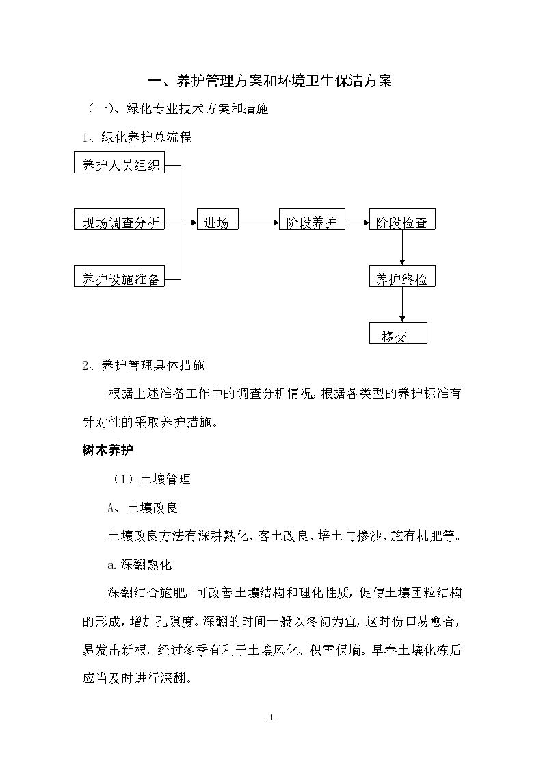 广东某医院绿化养护施工方案-图二