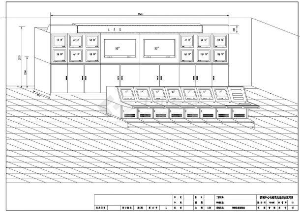杭州市西湖区某高层金融大厦内部弱电系统全套设计CAD图纸-图一