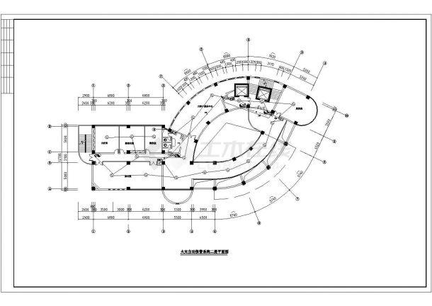 温州市某产业园12层框架结构办公楼全套火灾报警系统设计CAD图纸-图一