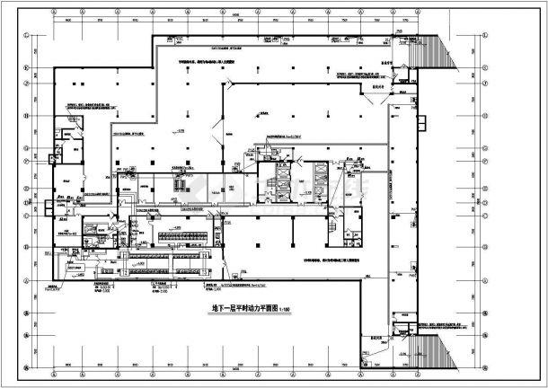 某二级甲等综合性中医医院强弱电系统设计cad全套电气施工图纸(含设计说明,含消防设计,130张)-图二