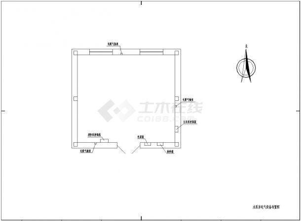 220KV变电站建筑设计施工图-图二