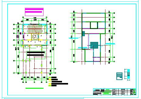 装配式建筑教学案例CAD施工图纸-图一