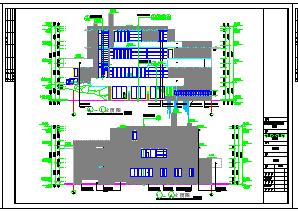 某地三层流水别墅bob电竞app设计图纸(整套)-图一
