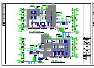 某地三层流水别墅bob电竞app设计图纸(整套)-图二
