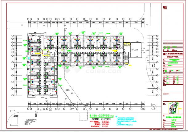 某地多层教工宿舍空调通风系统设计CAD施工图纸-图一