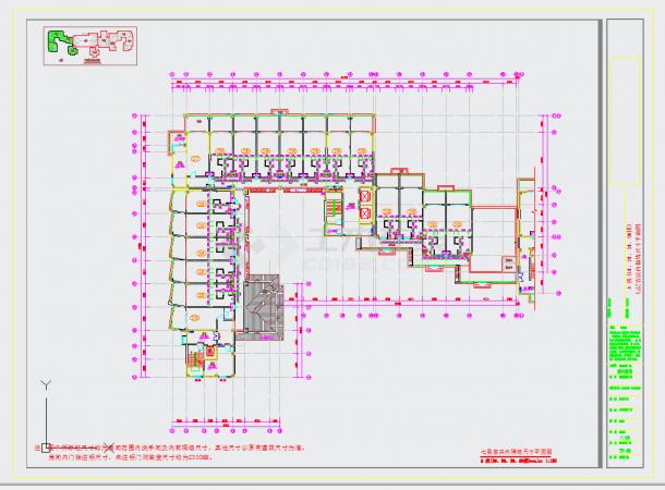 某地旅游胜地核心区域高档温泉酒店设计含效果图CAD施工图纸-图一