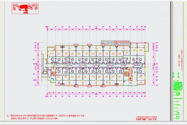 某地旅游胜地核心区域高档温泉酒店设计含效果图CAD施工图纸-图二
