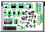 某学校砖混结构教学楼设计CAD施工图-图一