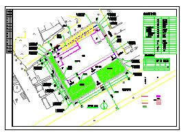 星级酒店强弱电系统全套设计CAD施工图-图一