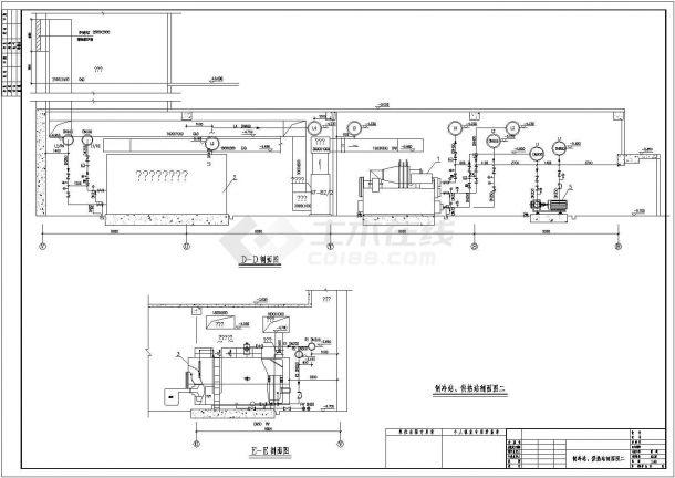 上海某广场空调通风设计cad全套施工图纸(含设计说明)-图二