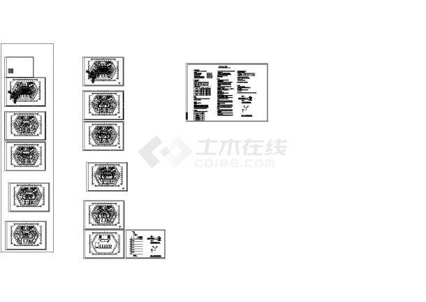 [江西]多层医院舒适性中央空调系统设计施工图纸-图一