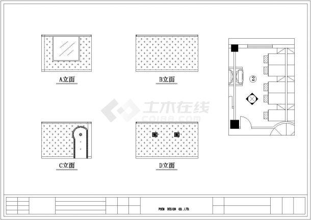 某地大型休闲中心建筑方案CAD设计图纸-图一