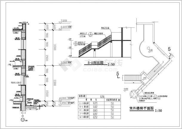 某小区幼儿园建筑规划cad施工图纸-图一