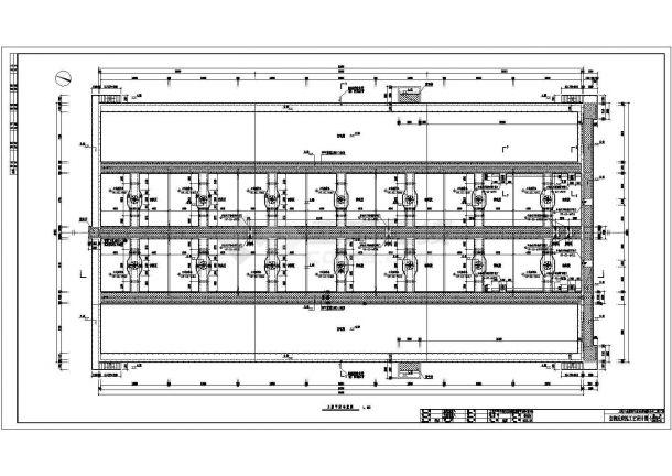 现代小院规划设计施工图-图一