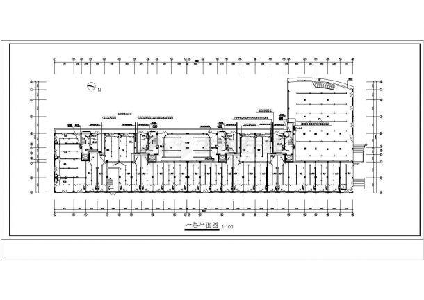商住楼电施图CAD图纸2-图二