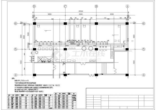 重庆某小区中水回用系统全套工艺设计CAD图纸-图二