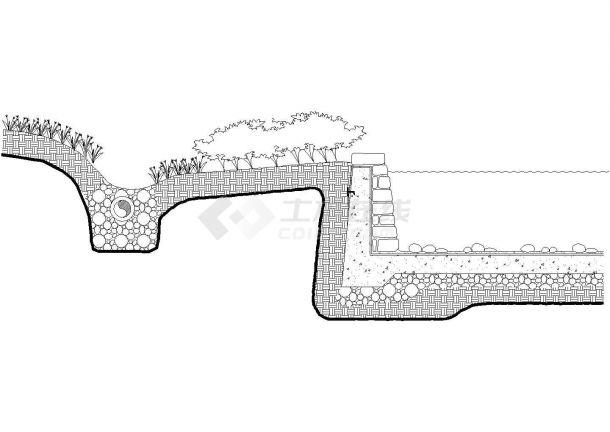 经典常用的池沿驳坎设计CAD图集(共87张)-图一