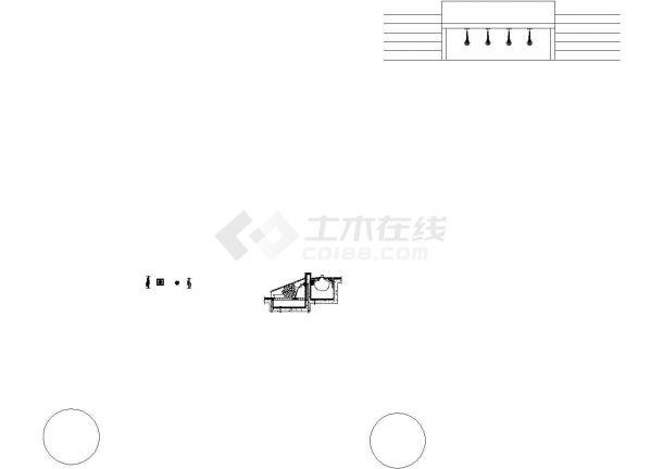 经典常用的水幕瀑布设计CAD图集(24张)-图二