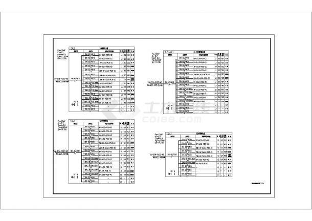 [浙江]中学教学楼电气CAD建筑设计施工图-图一