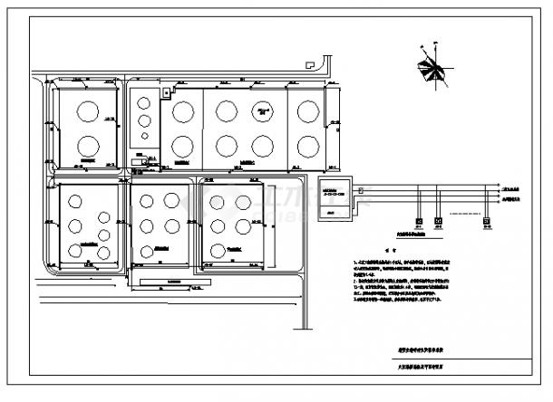 某值班室火灾报警系统设计cad图(含平面图)-图一